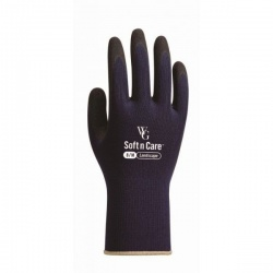 WithGarden Soft and Care Landscape 596 Nitrile Navy Gardening Gloves