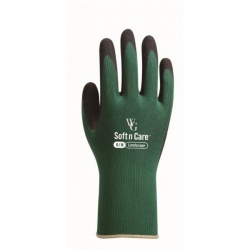 WithGarden Soft and Care Landscape 597 Nitrile Forest Green Gardening Gloves