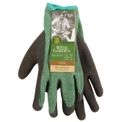 WithGarden Soft and Tough Original 365 Latex Evergreen Gardening Gloves