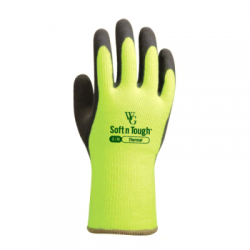 WithGarden Soft and Tough Thermal 375 Lemon Yellow Gardening Gloves