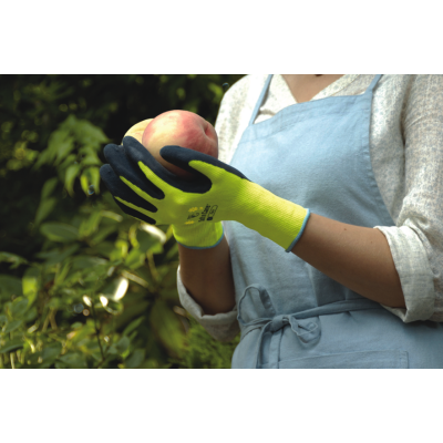 WithGarden Soft and Care Flora 317 Lemon Yellow Gardening Gloves