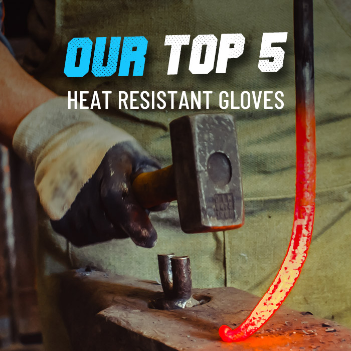 Top 5 heat resistant work gloves