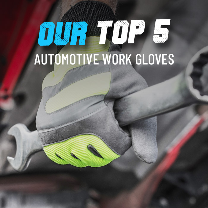 Top 5 automotive gloves