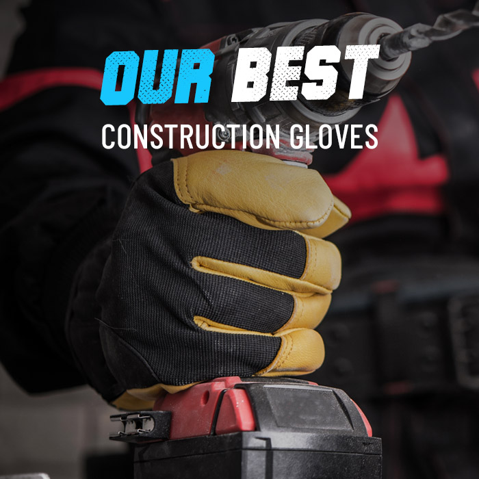 Our top 5 construction gloves
