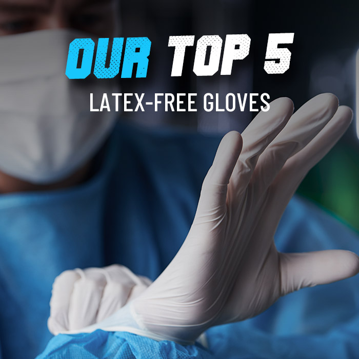 Top 5 latex-free gloves